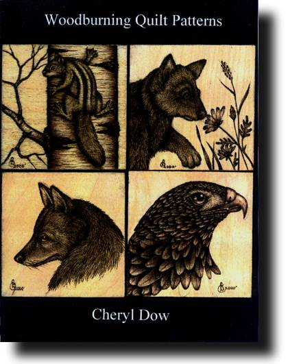 Woodburning Quilt Patterns by Cheryl Dow